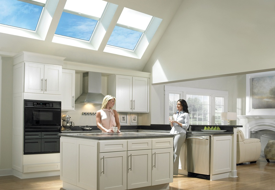 Daylight 24x7, thanks to 29 skylights